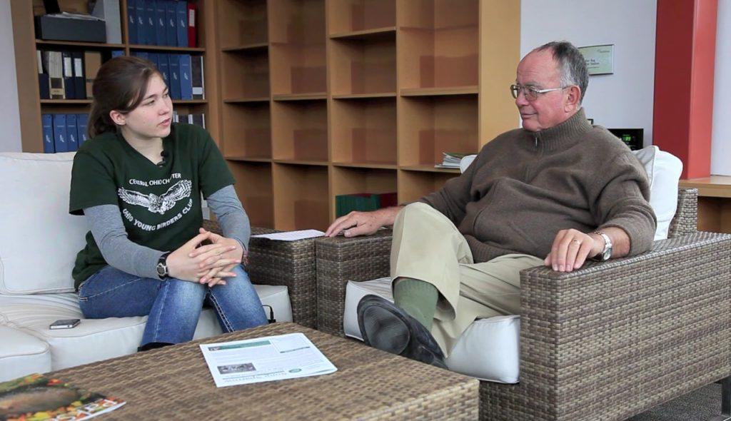Cranes - Chloe Degitz interviews George Archibald