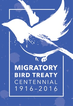 Migratory Bird Treaty Centennial logo