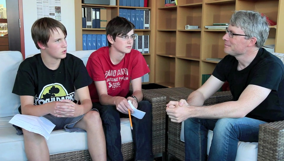 Ethan and Griffin Wagner interview Neil Hayward