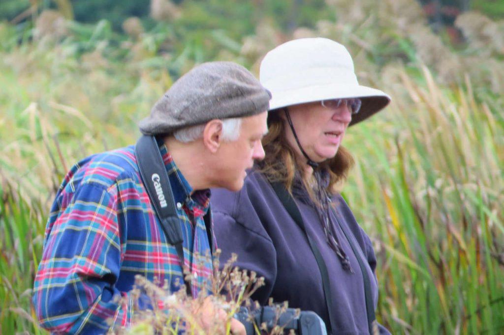Bruce Satta and Donna Kuhn at Wake Robin - Photo Lisa Phelps