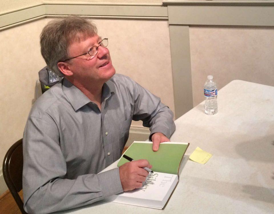 David Sibley book signing October 7, 2016 - Photo Tom Sheley