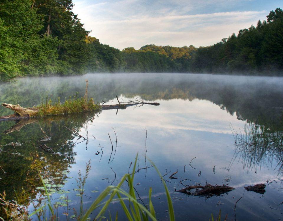 Early Light on Lake Katharine - Photo Morgan Paul