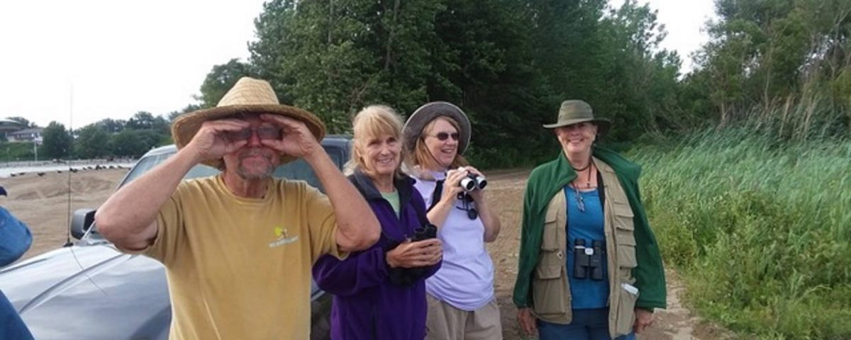 Some Avid Birders use better optics than others....