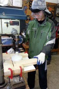 Cutting and preparing nestbox components
