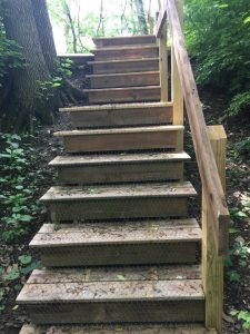 Calamus Stairs - Photo Trudy Brandenburg