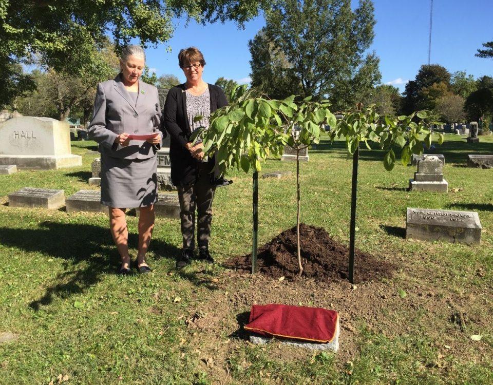 Thomas Tree Dedication: Fagan - Boyd