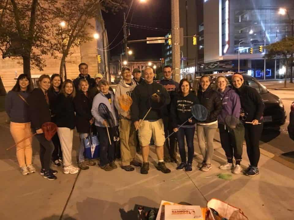 Cleveland Lights Out Volunteers 2018