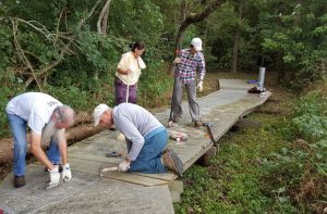 Boardwalk Repair at Calamus Swamp