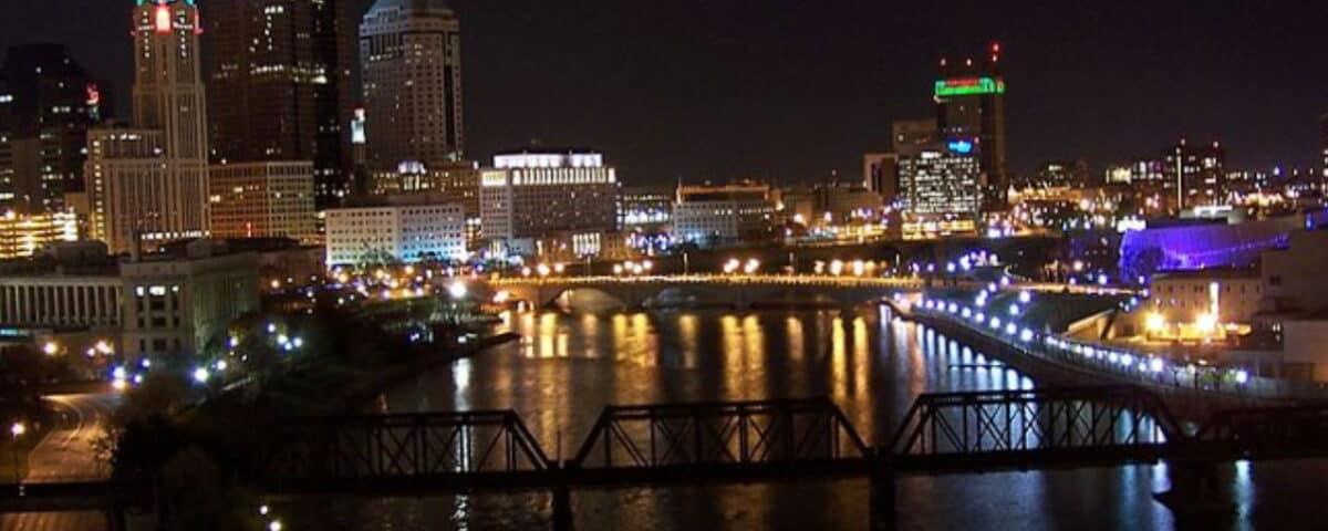 Columbus Downtown Night