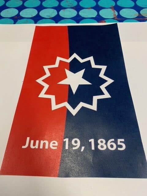 Juneteenth Banner - Photo Sheila Fagan
