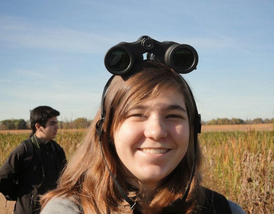 Binoculars as a stylish accessory
